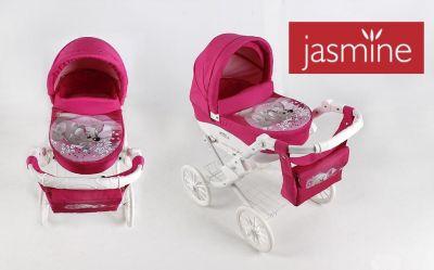 Kočík pre bábiky JASMINE Kids psík