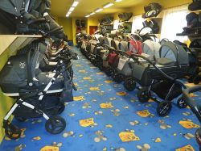 Kočárky Jasmine v největší prodejně na Ústecku - 1736336 - 400 m2 prodejní plochy v Dětském ráji u Kačenky