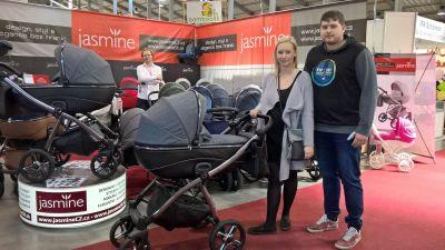 paní Kristýna s manželem z Chotíkova s novou Jasmine Bennetta