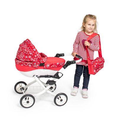 moderné kočíky 2020 Růžový kočík pre bábiky veľký Jasmine Kids 23 Jednorožec detské kočíky Jasmine