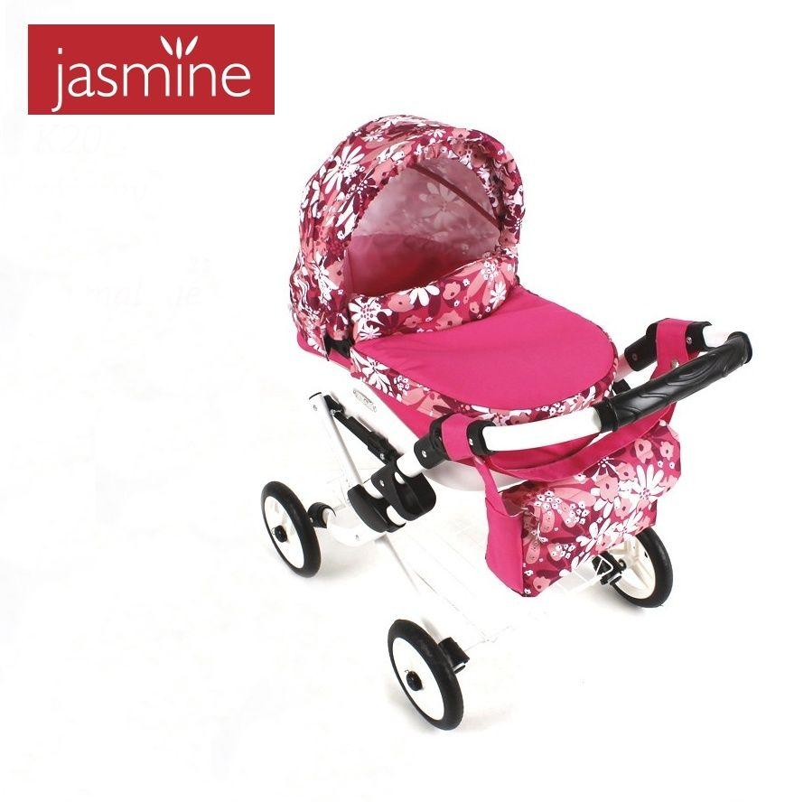 kočárek pro panenky Jasmine Kids 20