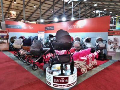 stánek Jasmine na zahájení veletrhu For Babies 2018