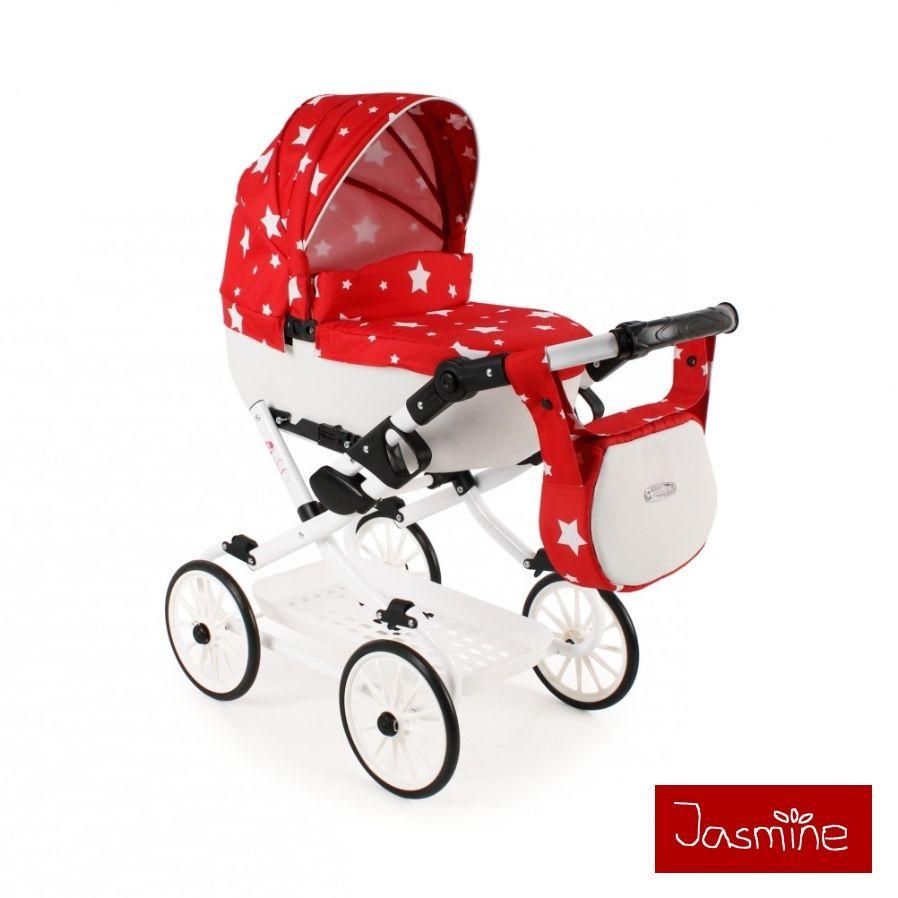 Dětský kočárek pro panenky Jasmine Kids V6
