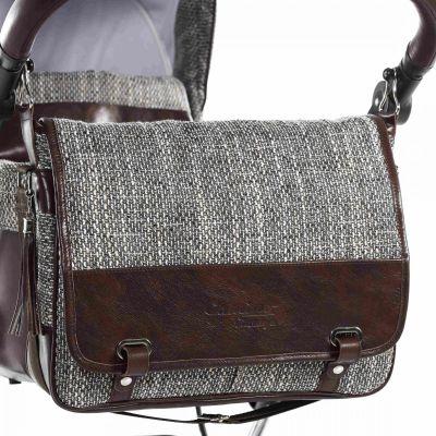 kožená taška na kočárek Jasmine Camino Vintage 01H