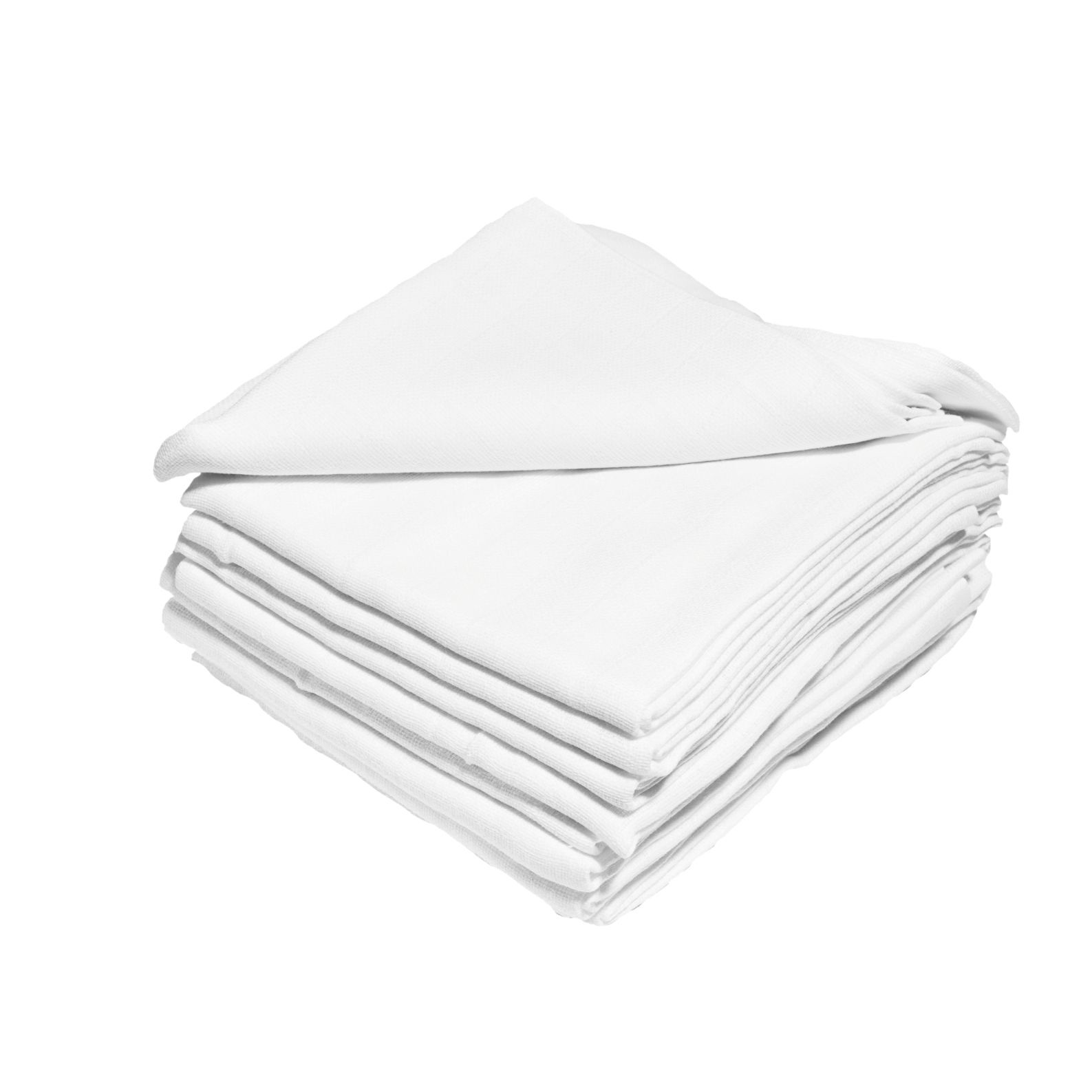 JASMINE Tetra plienky Jasmine 70x80 cm bílé 10ks 115g/m2
