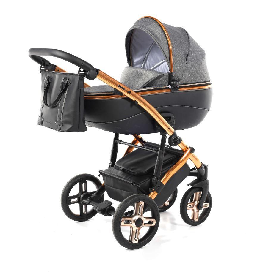 kočárek pro novorozence Jasmine Bennetta Soft LE 01