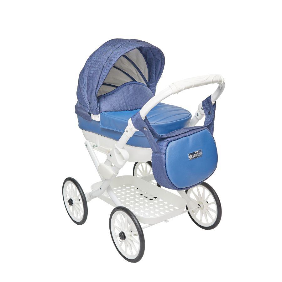 JASMINE Kočík pre bábiky Jasmine Kids Elegance modrý