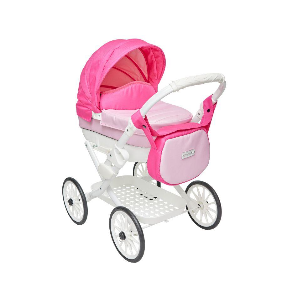 JASMINE Kočík pre bábiky Jasmine Kids Elegance ružový